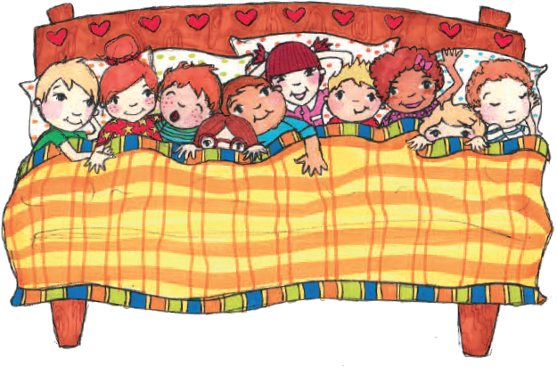 Children in Bed